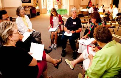 A second community forum was held in Manassas on July 26.  Photo by Linda Hughes.